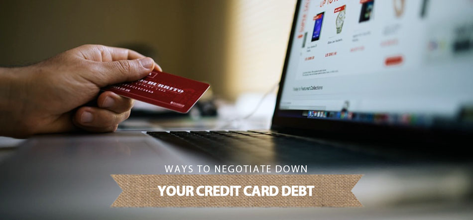 negotiate down credit card debt