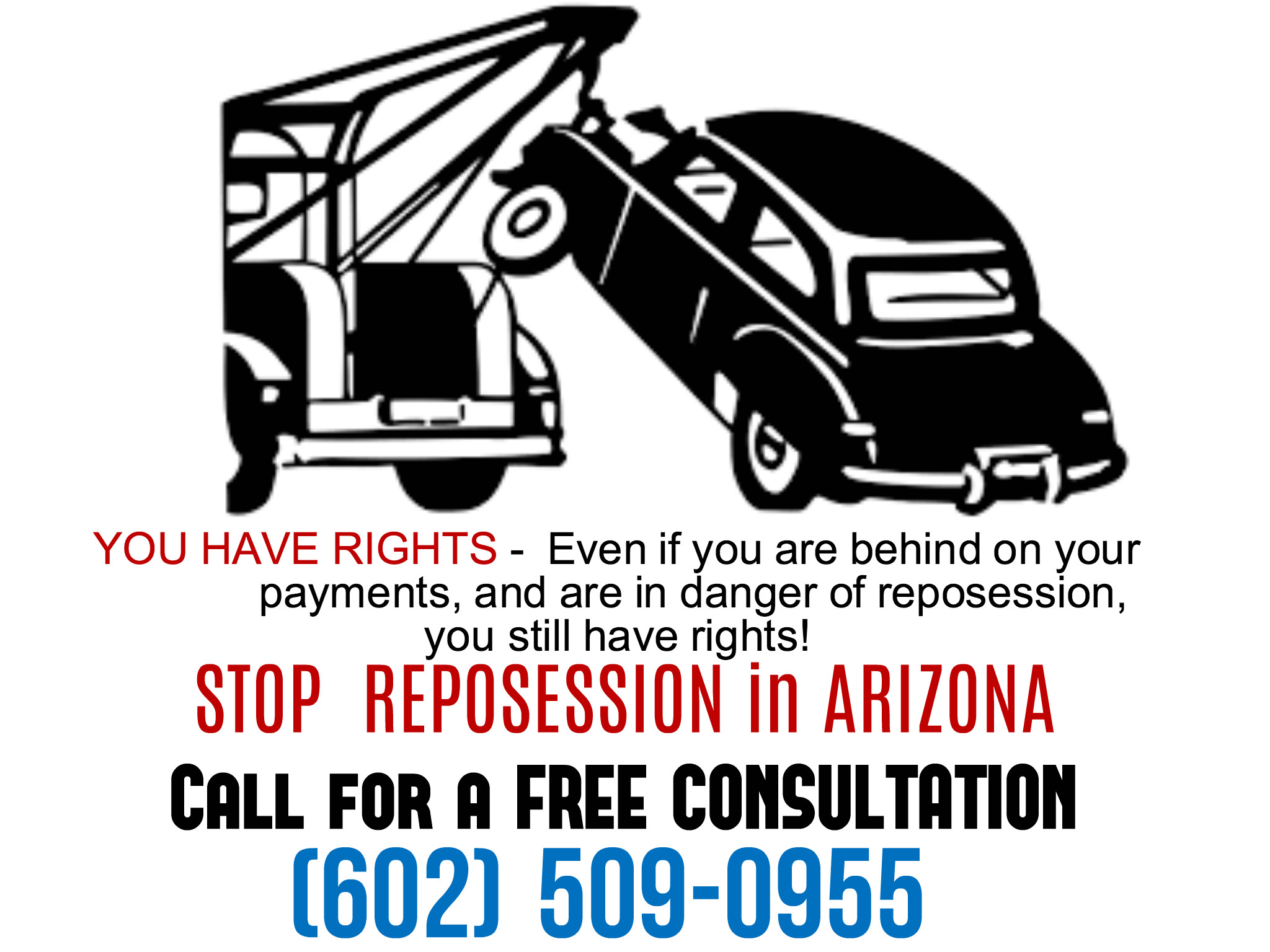 Stop Repossessions in Arizona, Phoenix Bankruptcy Lawyers