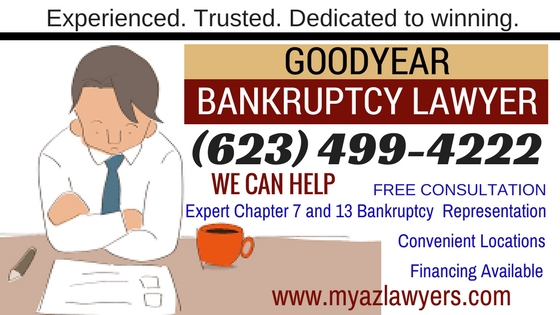 Goodyear Bankruptcy Lawyers, Zero Down Goodyear Bankruptcy Attorneys
